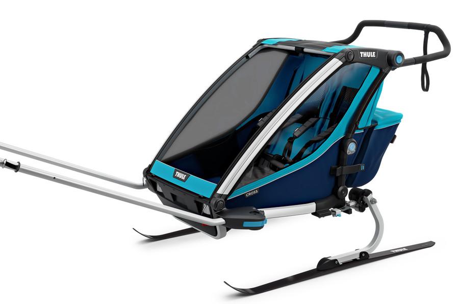 Ski-Langlauf-Set