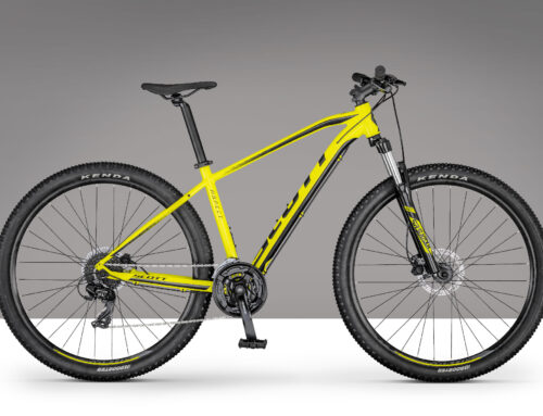 Scott Aspect 760 yellow